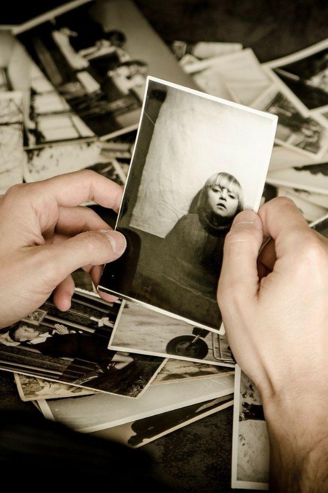 Foto herinnering een trucje van ons hoofd