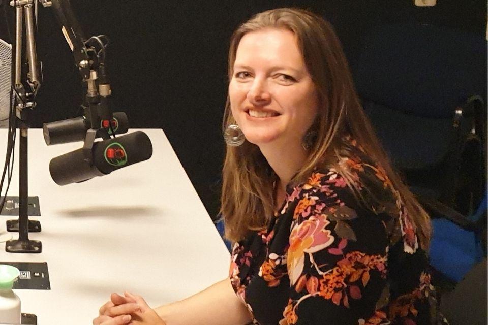 Monique Moor te gast bij ZorgSaam van RTV Lansingerland