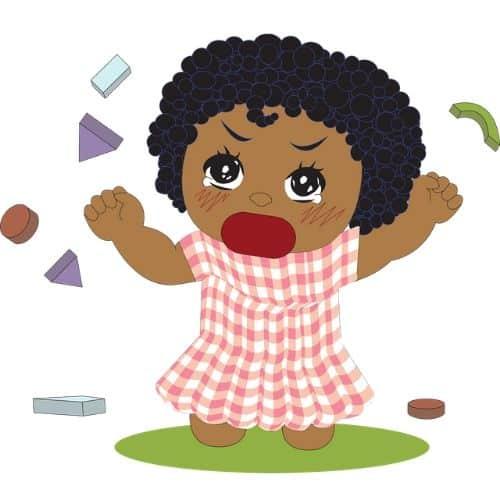 Heftige boosheid, een kindreactie als we op ons pijnpunt worden geraakt