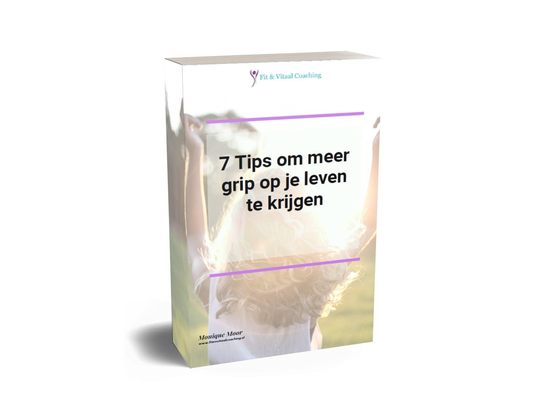 gratis ebook 7 tips voor meer grip op je leven
